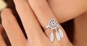 mágicos anillos con atrapasueños