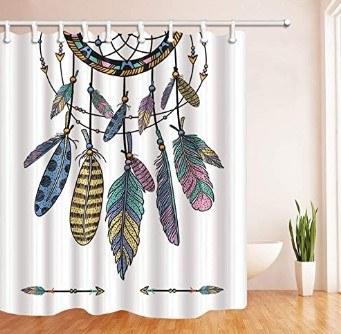 cortinas de atrapasueños para ducha