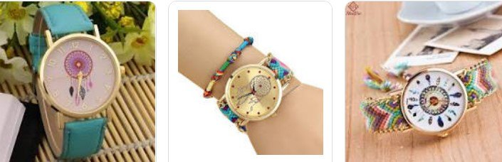 relojes con atrapasueños